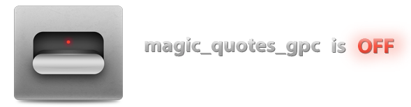 Superблог Locum: magic_quotes_gps is off